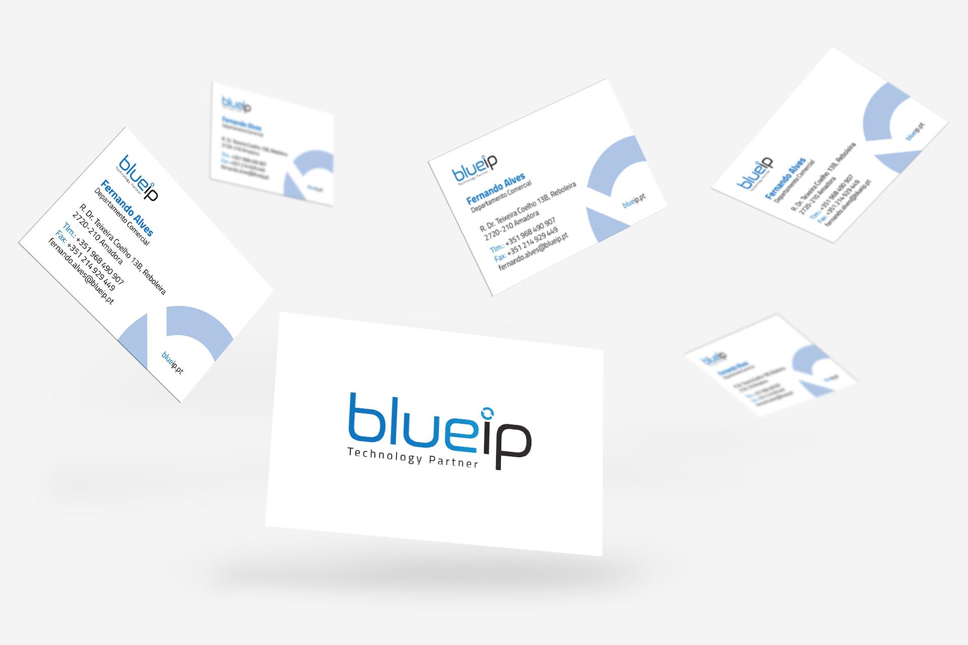 BlueIP - Cartão de Visita