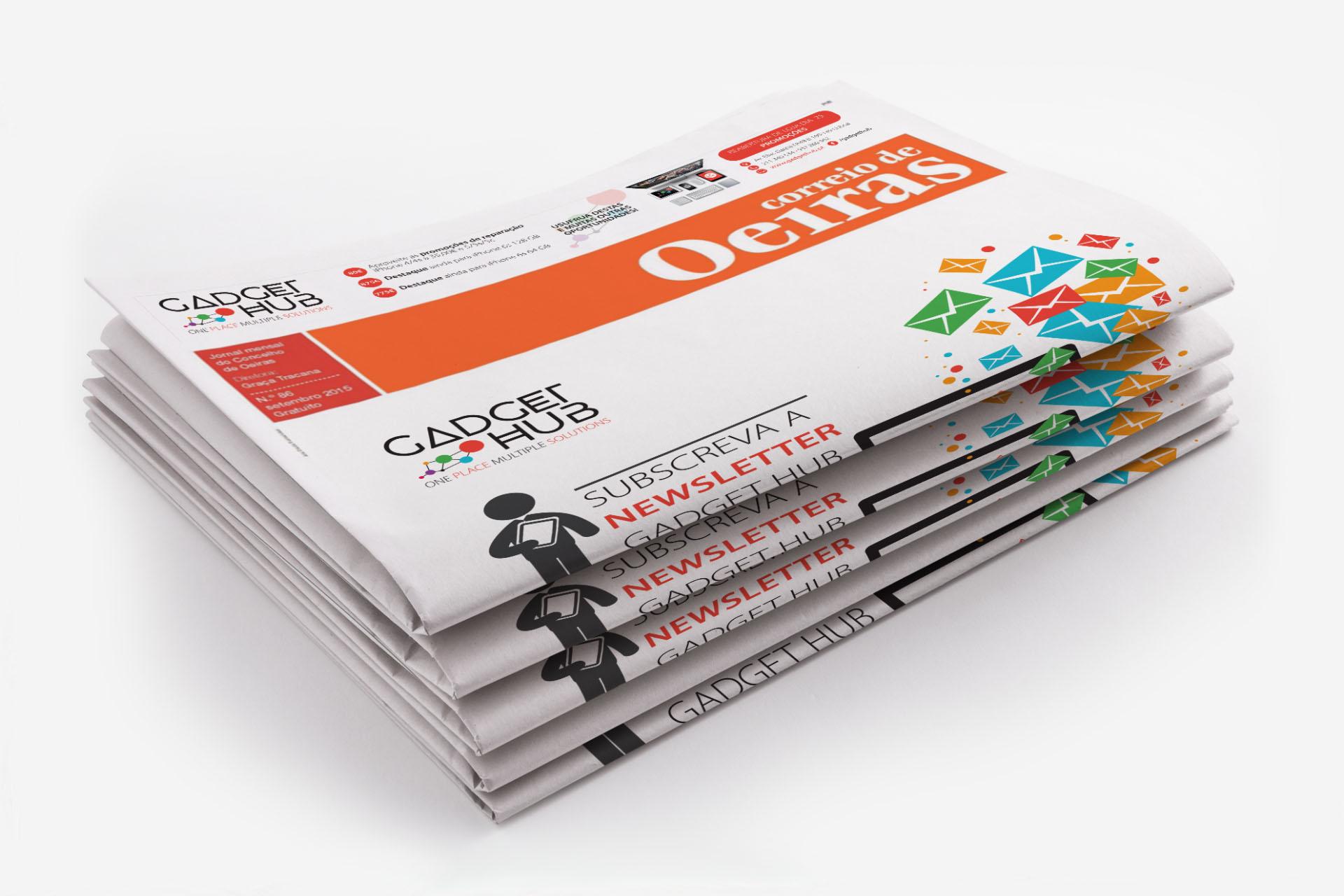 Gadget Hub - Publicidade Jornal de Oeiras
