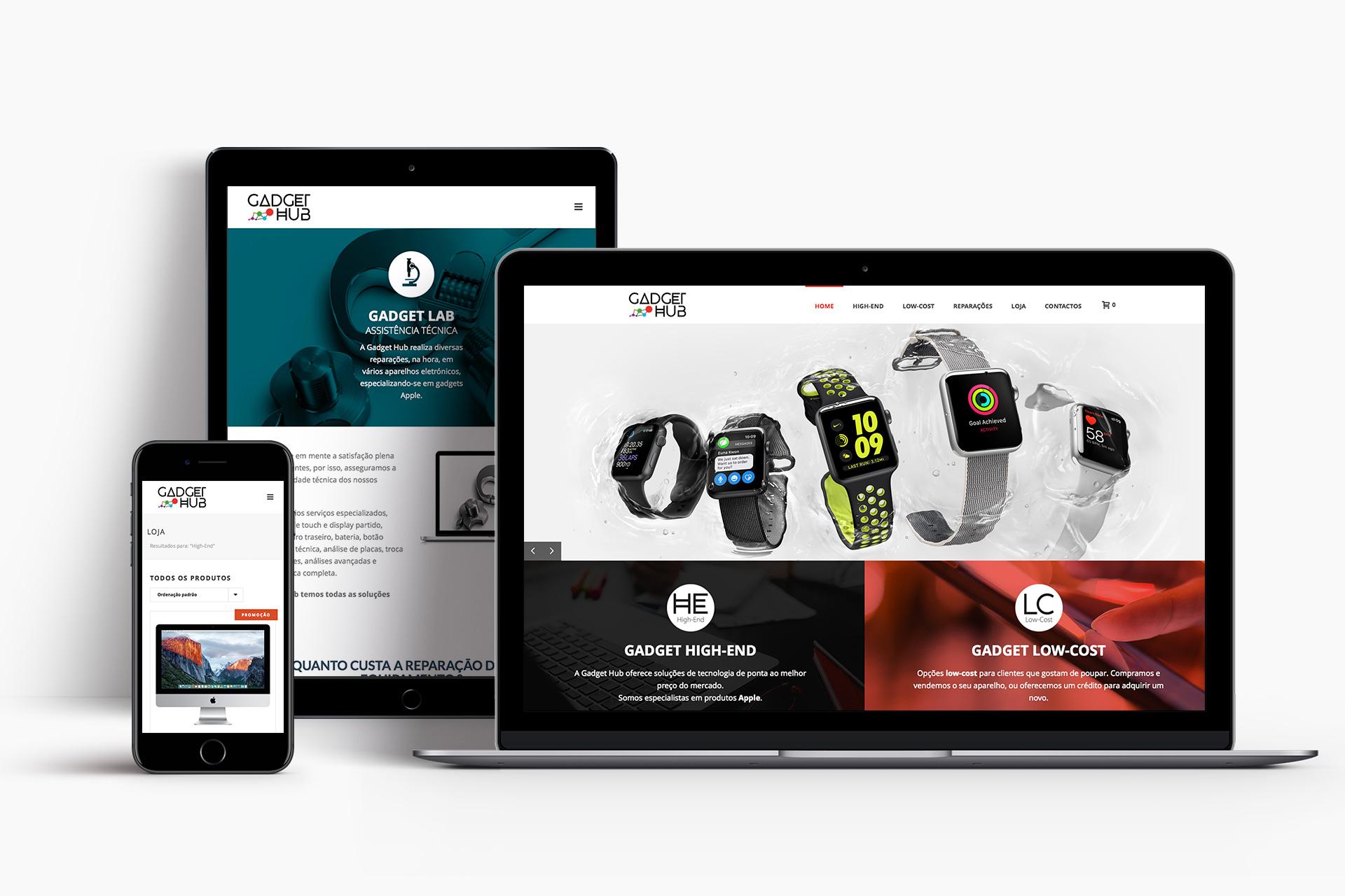 Gadget Hub - Website